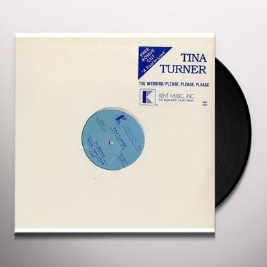 Tina Turner WEDDING/PLEASE PLEASE PLEASE / A FOOL IN LOVE Vinyl Record