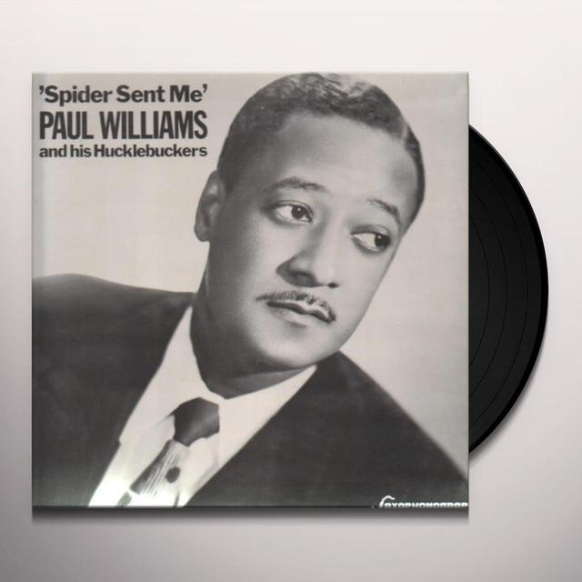 Paul Williams SPIDER SENT ME Vinyl Record