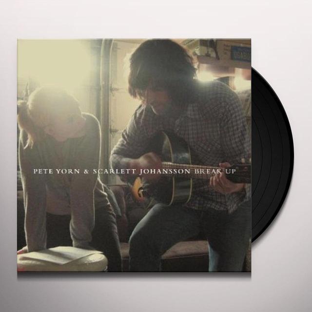 Pete Yorn & Scarlett Johansson BREAK UP Vinyl Record