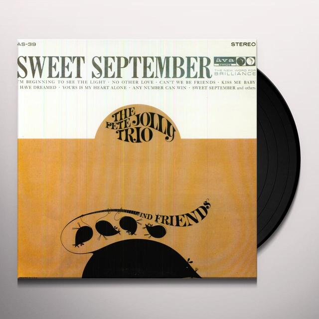 Pete Trio Jolly SWEET SEPTEMBER Vinyl Record