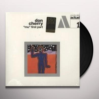 Don Cherry MU FIRST PART Vinyl Record