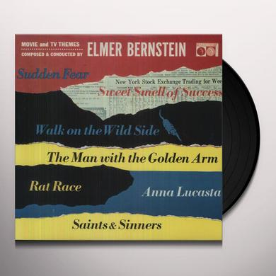 Elmer Bernstein MOVIE & TV THEMES Vinyl Record