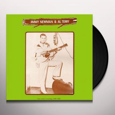JIMMY NEWMAN & AL TERRY Vinyl Record