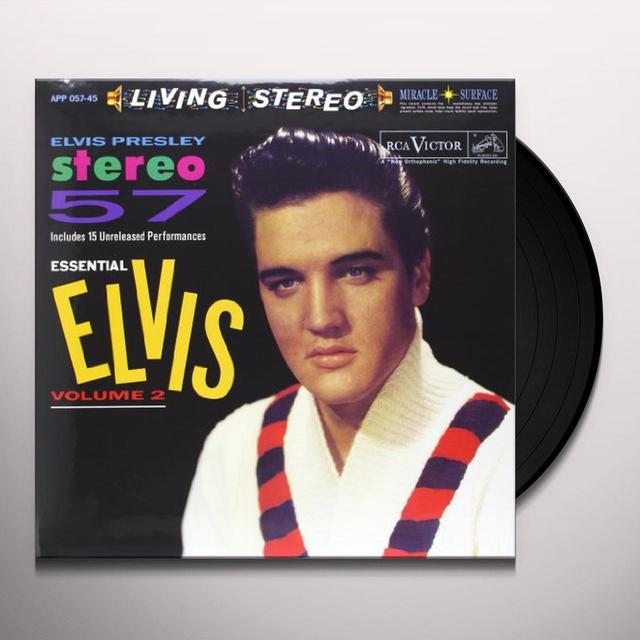 STEREO 57-ESSENTIAL ELVIS 2 Vinyl Record