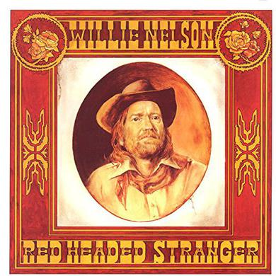 Willie Nelson RED HEADED STRANGER Vinyl Record