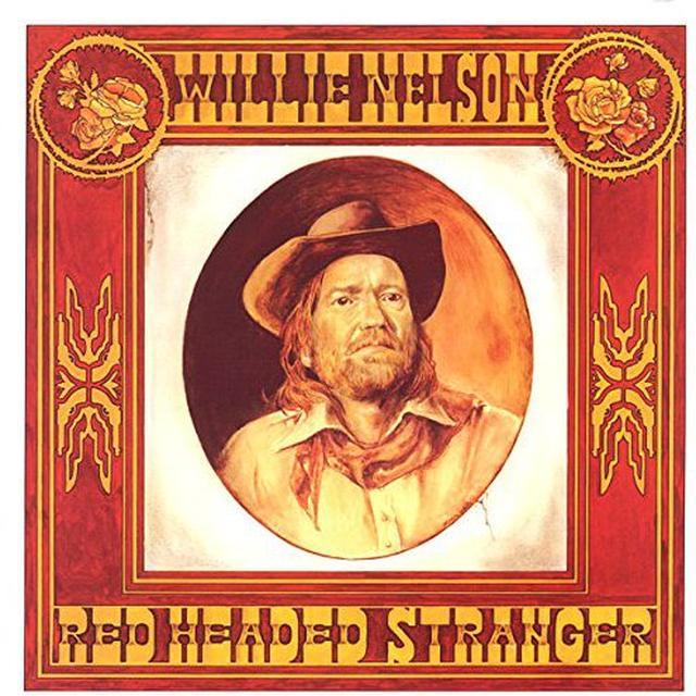 Willie Nelson RED HEADED STRANGER Vinyl Record