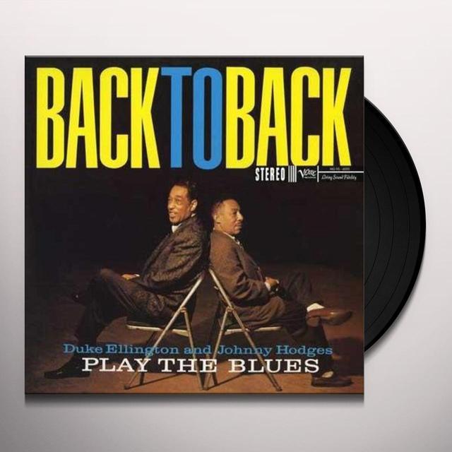 Duke Ellington & Johnny Hodges BACK TO BACK Vinyl Record