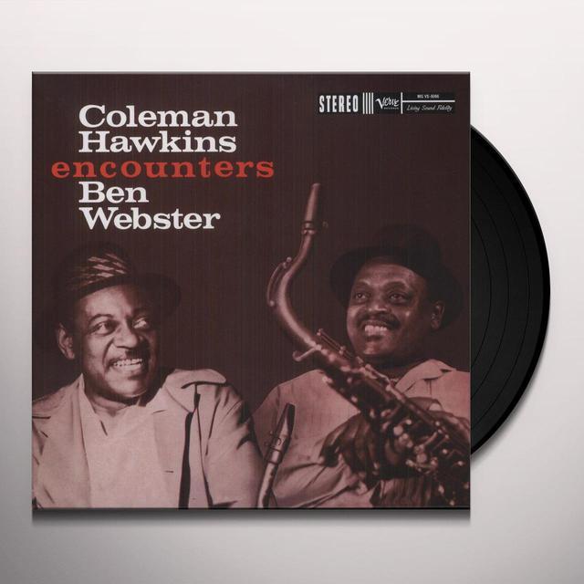Coleman Hawkins & Ben Webster COLEMAN HAWKINS ENCOUNTERS BEN WEBSTER Vinyl Record