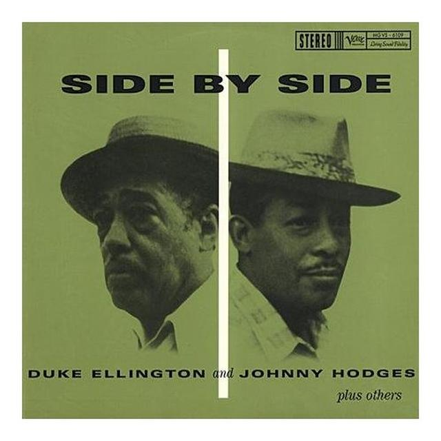 Duke Ellington & Johnny Hodges SIDE BY SIDE Vinyl Record