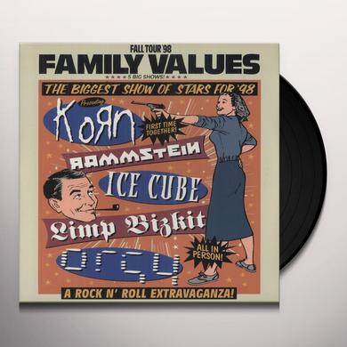 FAMILY VALUES TOUR / VARIOUS Vinyl Record