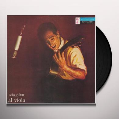 Al Viola SOLO GUITAR Vinyl Record