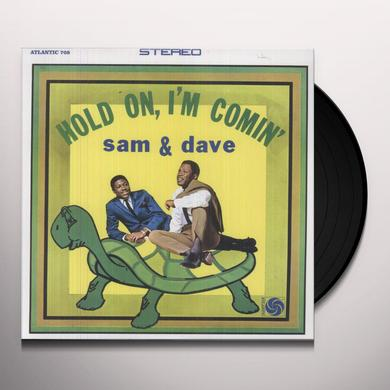 Sam & Dave HOLD ON I'M COMIN Vinyl Record