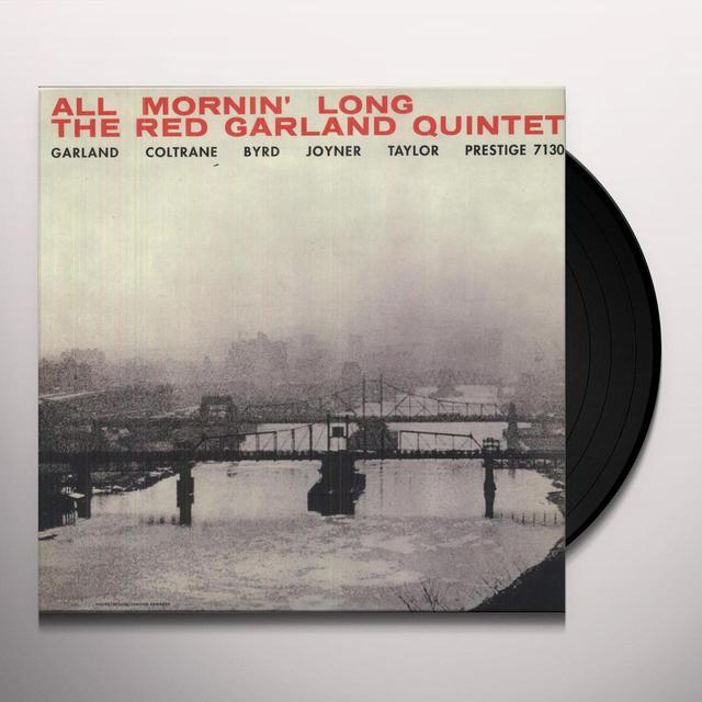 Red Quintet Garland ALL MORNIN' LONG Vinyl Record