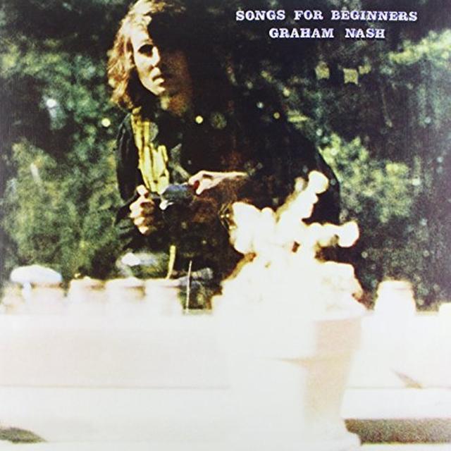 Graham Nash SONGS FOR BEGINNERS Vinyl Record