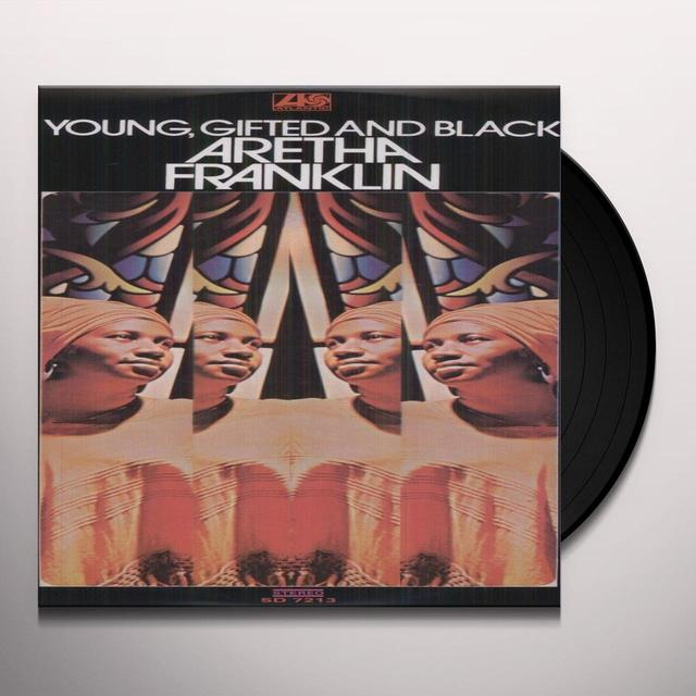 Aretha Franklin YOUNG GIFTED & BLACK Vinyl Record