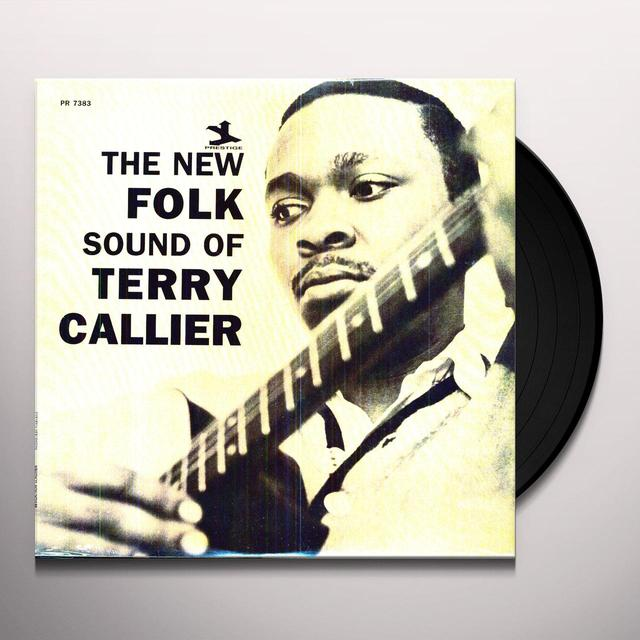 NEW FOLK SOUND OF TERRY CALLIER Vinyl Record