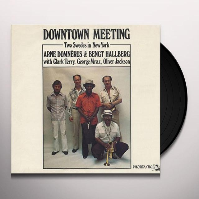 Arne Domnerus & Bengt Hallberg DOWNTOWN MEETING-TWO SWEDES IN NEW YORK (Vinyl)