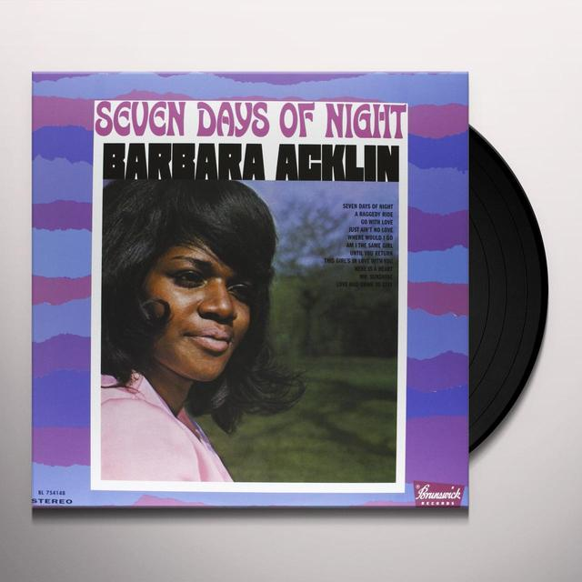 Barbara Acklin SEVEN DAYS OF NIGHT Vinyl Record