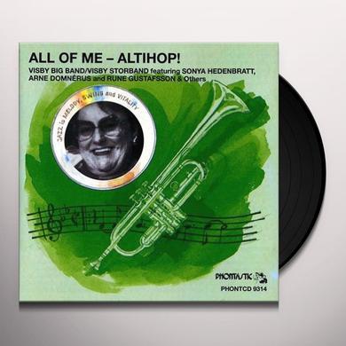Visby Big Band ALTIHOP Vinyl Record