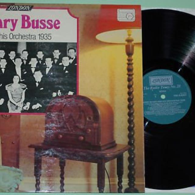 HENRY BUSSE & HIS ORCHESTRA 1949 Vinyl Record