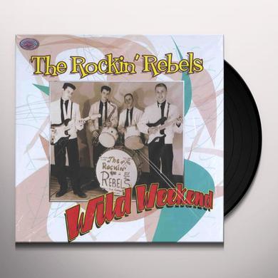 Rockin Rebels WILD WEEKEND Vinyl Record