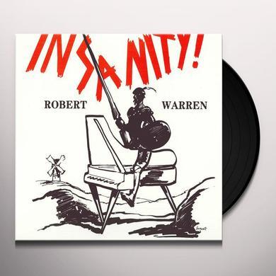 Robert Warren INSANITY Vinyl Record