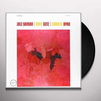 Stan Getz & Charlie Byrd JAZZ SAMBA Vinyl Record