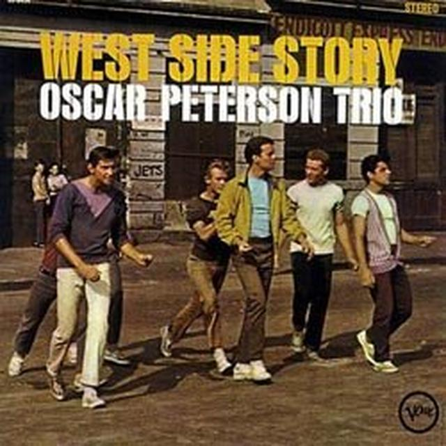 Oscar Peterson Trio WEST SIDE STORY Vinyl Record