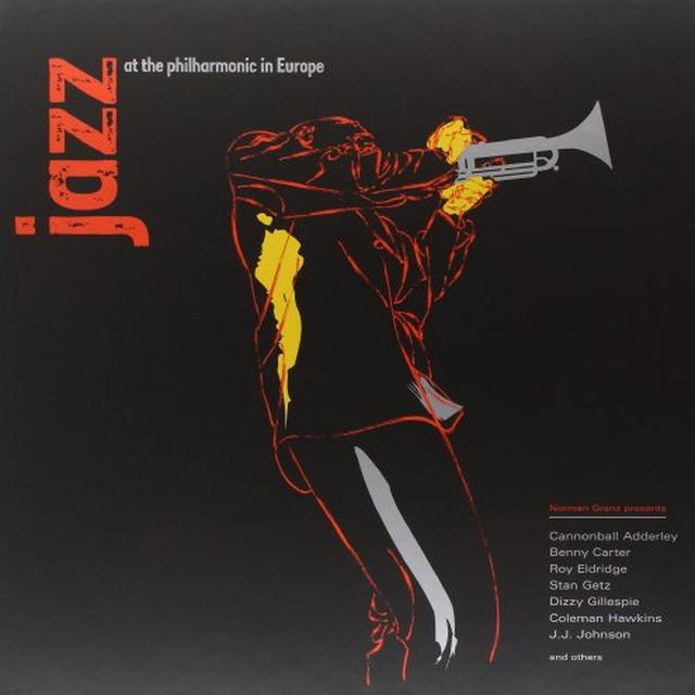 JAZZ AT THE PHILHARMONIC IN EUROPE / VARIOUS Vinyl Record