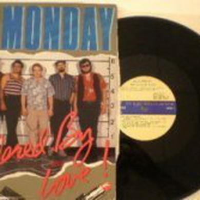 Blue Monday MURDERED BY LOVE Vinyl Record