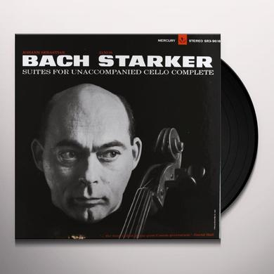 Janos Starker BACH-6 SOLO CELLO SUITES Vinyl Record