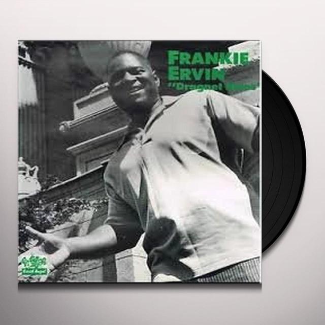 Frankie Ervin DRAGNET BLUES Vinyl Record