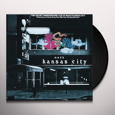 Velvet Underground MAX'S KANSAS CITY Vinyl Record