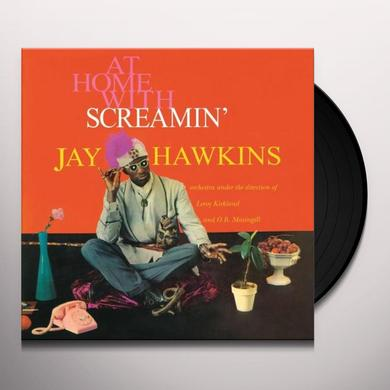 Jay Hawkins AT HOME WITH Vinyl Record