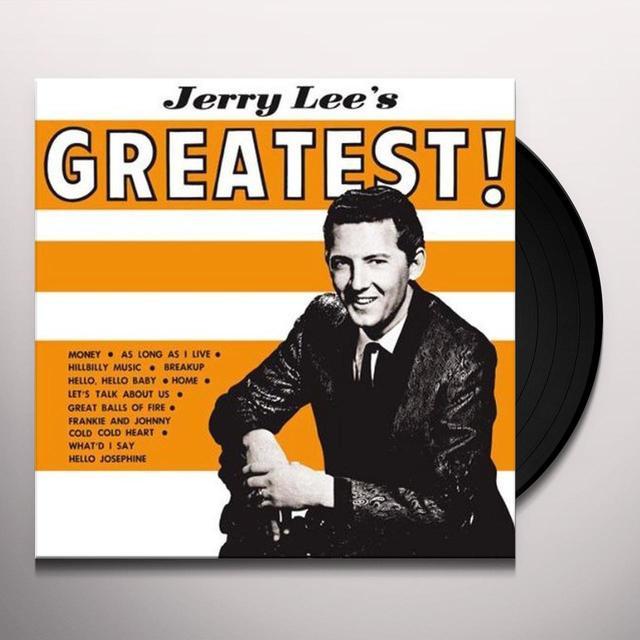Jerry Lee Lewis GREATEST Vinyl Record
