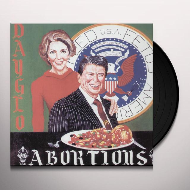 Dayglo Abortions FEED US FETUS Vinyl Record