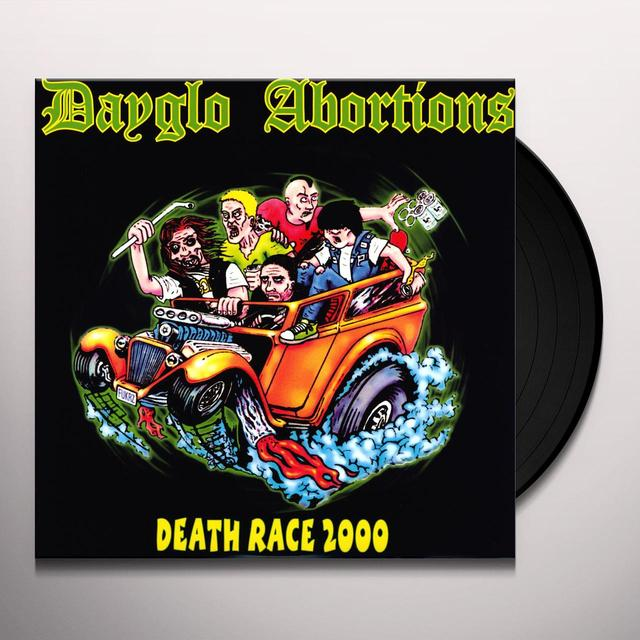 Dayglo Abortions DEATHRACE 2000 Vinyl Record