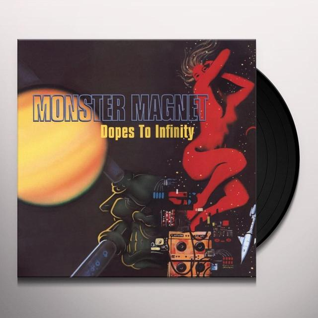 Monster Magnet DOPES TO INFINITY Vinyl Record - Black Vinyl