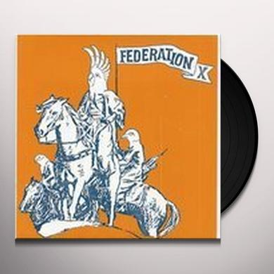 Federation X THEME FOR A NUDE DISINTEGRATING PARACHUTIST WOMAN Vinyl Record