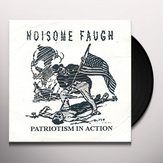 Noisome Faugh/Flight 800 PATRIOTISM IN ACTION Vinyl Record