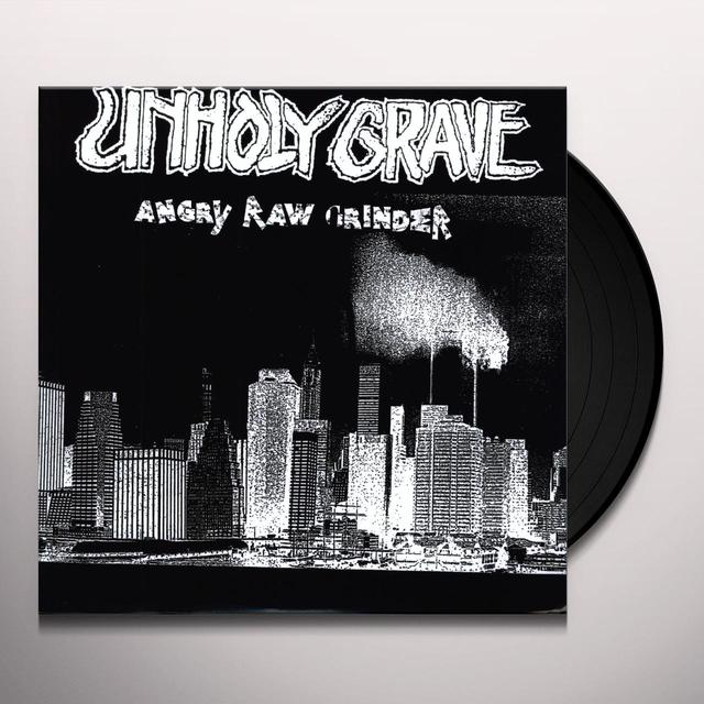 Unholy Grave ANGRY MAN GRINDER Vinyl Record