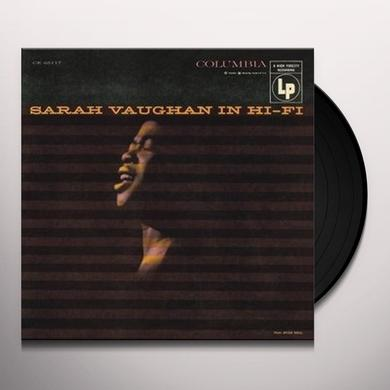 Sarah Vaughan IN HI-FI Vinyl Record