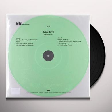 Brian Eno LIVE AT THE BBC Vinyl Record