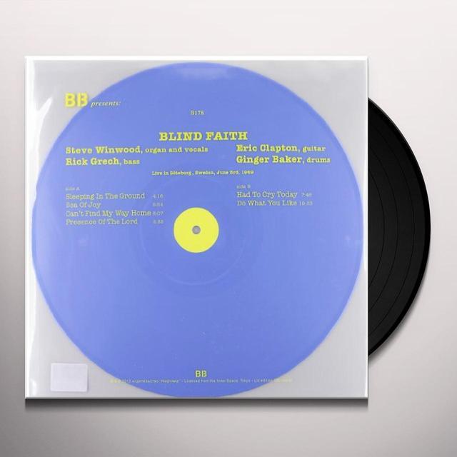 Blind Faith LIVE IN GOTEBORG SWEDEN 1969 Vinyl Record