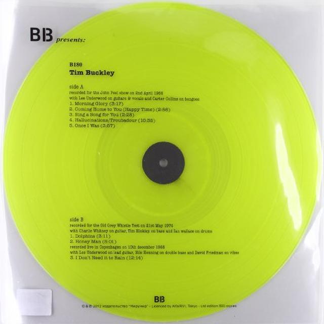 Tim Buckley JOHN PEEL 68 / COPENHAGEN 68 Vinyl Record
