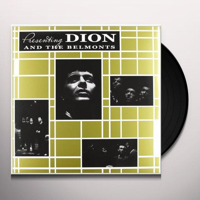 PRESENTING DION & THE BELMONTS Vinyl Record