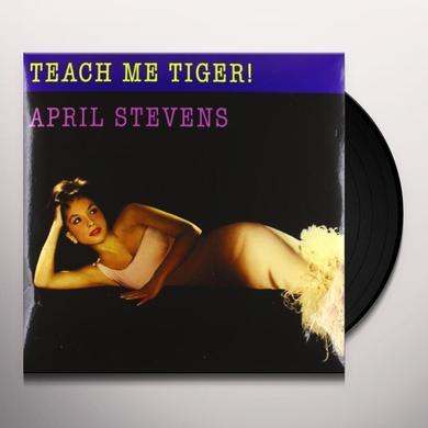 April Stevens TEACH ME TIGER Vinyl Record