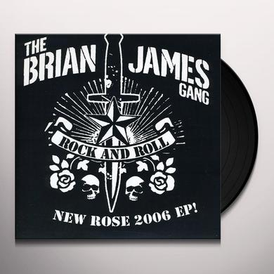 Brian Gang James NEW ROSE 2006 Vinyl Record