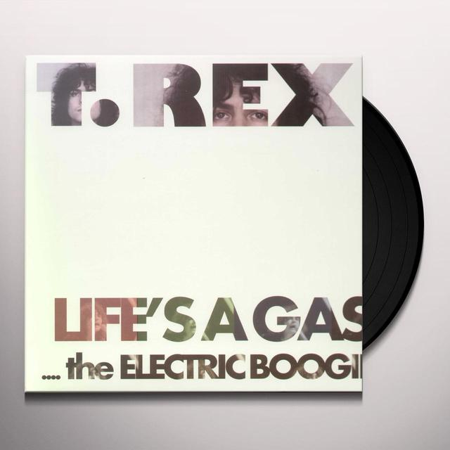 T-Rex LIFE'S A GAS / ELECTRIC BOOGIE (Vinyl)