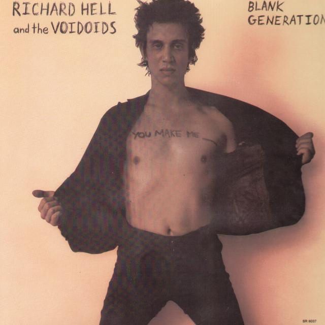 Richard Hell & The Voidoids BLANK GENERATION Vinyl Record